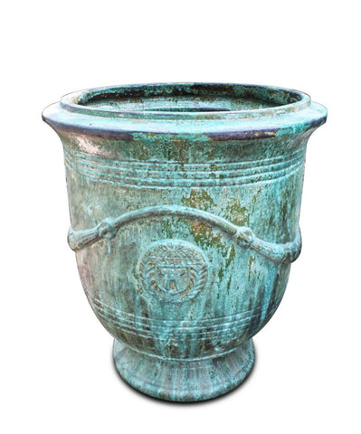 Versailles Planter Copper Green XL