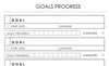 goals progress planner