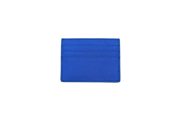 GLITTER CARD HOLDER BLUE