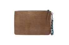 SHAWN MIXED TEXTURED WRISTLET BROWN