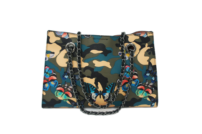 GINA BUTTERFLY CAMOUFLAGE BLUE