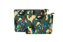 SHAWN BUTTERFLY CAMOUFLAGE BLUE WRISTLET SMALL