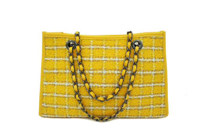 GINA TWEED YELLOW
