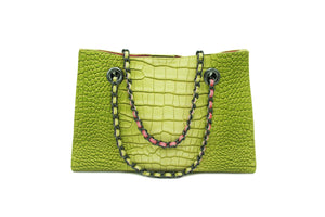 GINA CROCODILE LIME