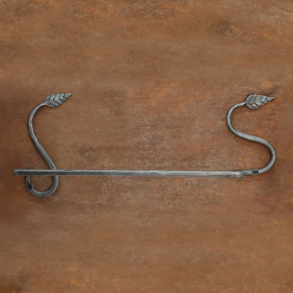 Hand Forged Iron Towel Hanger