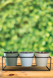 The Home Pot With Stand With 3 Different Color-L-1850