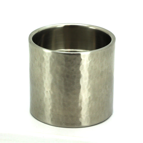 The home Candle Holder SCH-9008H 90X8 Hammered Shiny