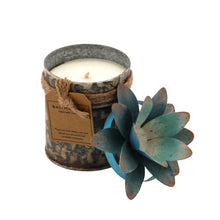 Load image into Gallery viewer, The Home Tin With Lotus Flower Candle-TLS-2