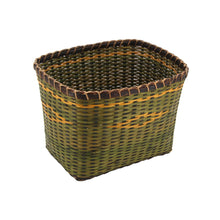 Load image into Gallery viewer, The Home Basket RRL3B Green Yellow Strips Small