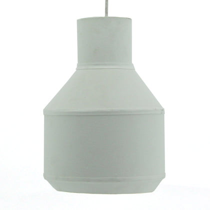 The Home Hanging Lamp Cotton White - Medium