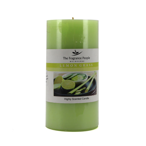 The Home Lemongrass Big Piller Candle (3*6 INCHES)