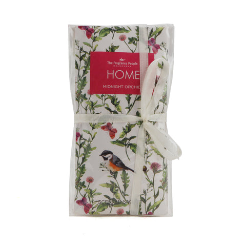 The Home Sachets Midnight Orchid Set Of 2