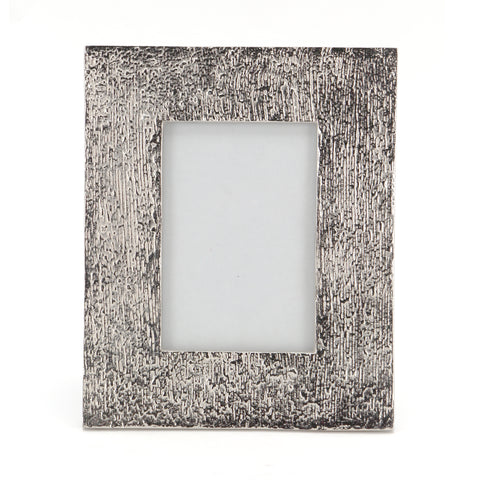 The Home Metallic Photo Frame Silver Big 8X10 Inch