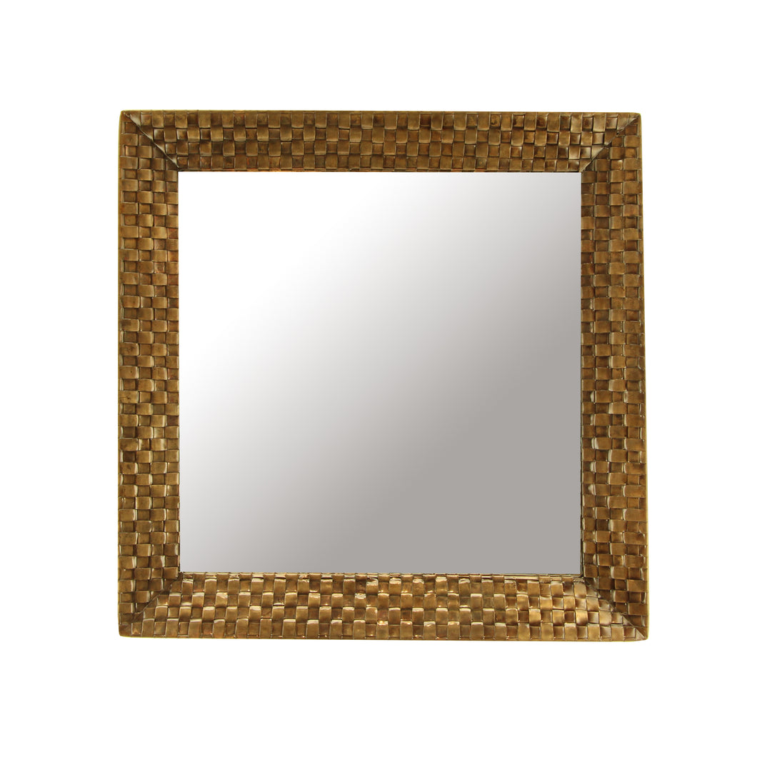The Home Mirror Square Gold IR962
