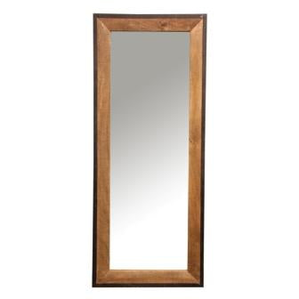 The Home Wooden Rectangular Mirror 170x71x3cm