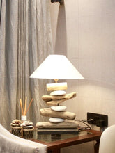 Load image into Gallery viewer, The Home Sulat Lamp W/Stone