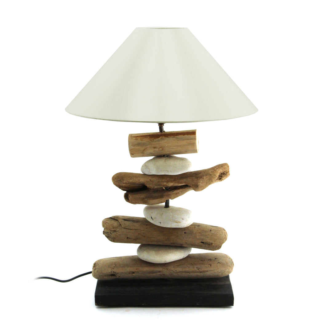The Home Sulat Lamp W/Stone