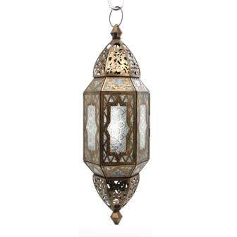 The Home Hanging Lantern Hexagonal G183