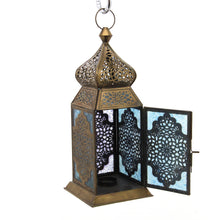 Load image into Gallery viewer, The Home Hanging Lantern Antique Brass F42-01