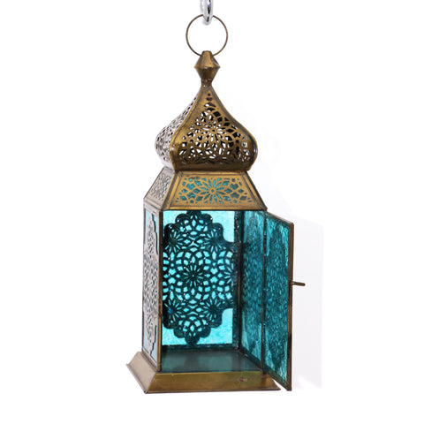The Home Hanging Lantern Antique Brass F42-03