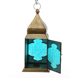The Home Hanging Lantern Antique Brass G185-01