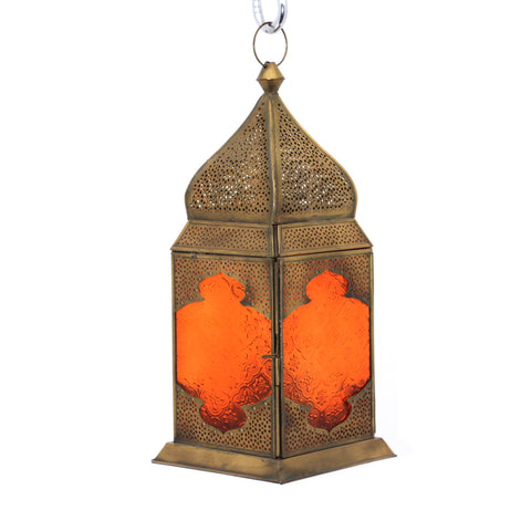 The Home Hanging Lantern Antique Brass G185-02