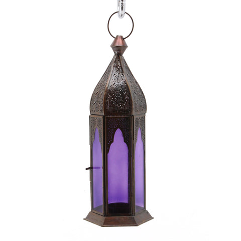 The Home Hanging Lantern Antique Copper D725