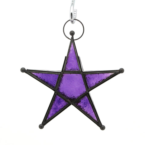 The Home Star Antique Zinc Purple BJ001