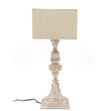 The Home Table Lamp Carving Straight Big