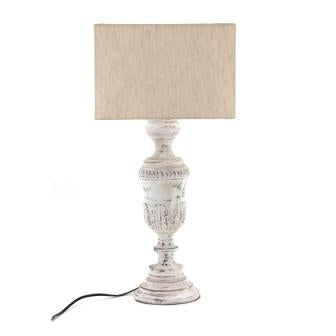 The Home Table Lamp Carving Straight Small