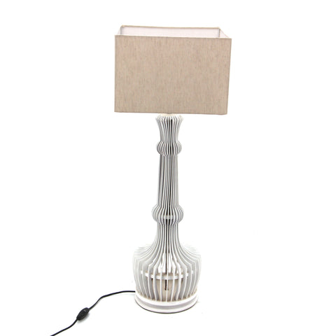 The Home Table Lamp Mesh With Shade