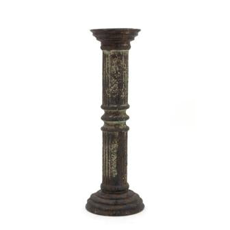 The Home Wooden Candle Stand Big