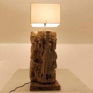 The Home Stone Figure Lamp T10