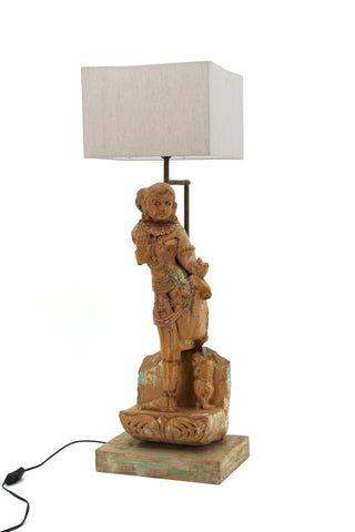 The Home Stone Figure Lamp TH3