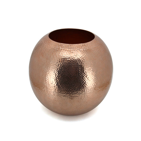 The Home Glabal Vase Hammered