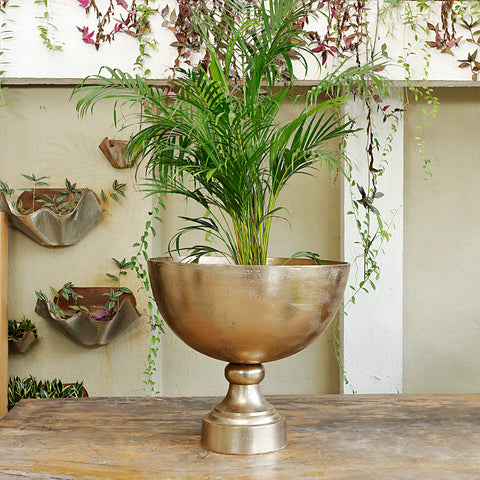 The home Bowl Planter Gold Small GD1673-B