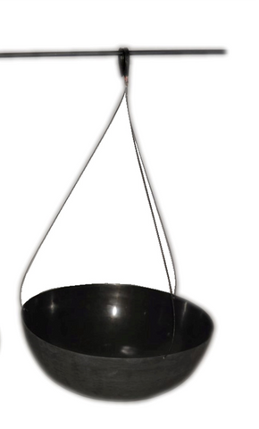 The Home Hanging Planter Black 1534-A