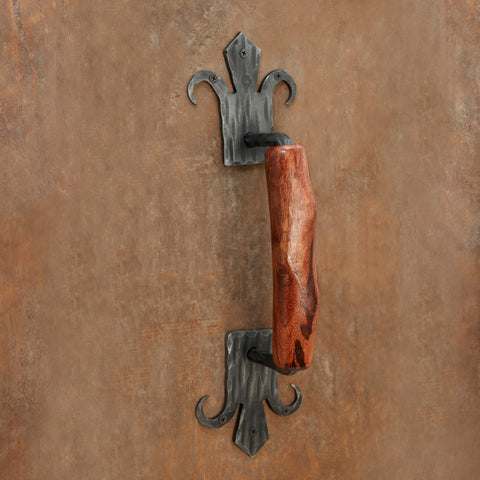 The Home Hand Forged Iron Hardware Iron Handle HC-139