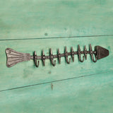 The home Hand Forged Iron Hardware Iron New Fish Hanger HC-880