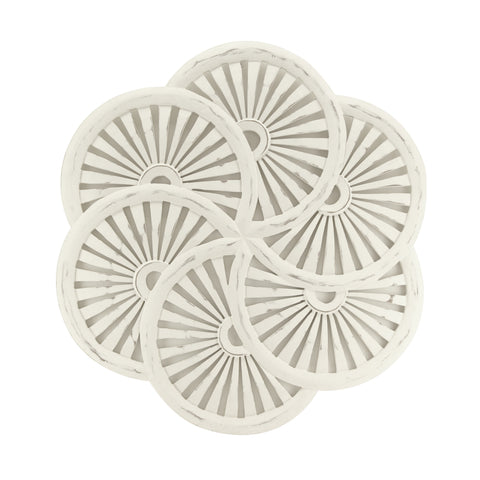 The Home Wall Panel Round Curves White