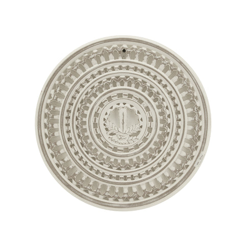 The Home Wall Panel Round Small White