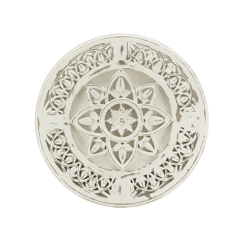 The Home Wall Panel Round Star White