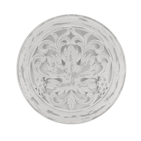 The Home Wall Panel Round Big Tree White