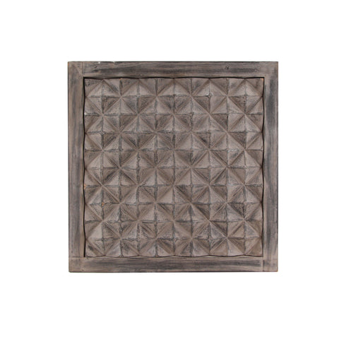 The Home Wall Squre Panel 3D Square Chocolate