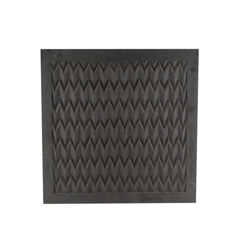 The Home Wall Square Panel 3D Grey
