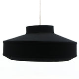 The Home Hanging Lamp Cotton Black - Large