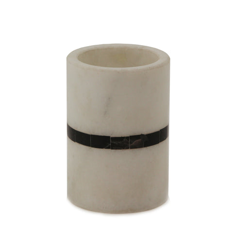 The Home Marble Tumbler Black Border