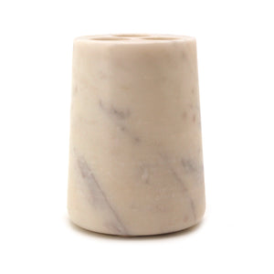 The Home B.White Marble Cone TBH Tumbler