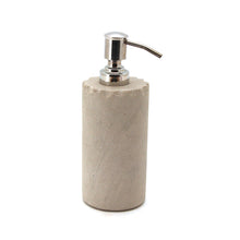 Load image into Gallery viewer, The Home Mint Sandstone Chipped Soap Dispenser