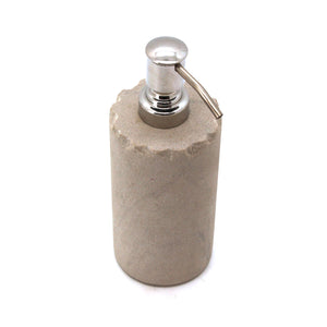 The Home Mint Sandstone Chipped Soap Dispenser